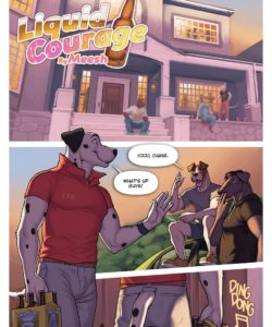 Liquid Courage 002 and Gay furries comics