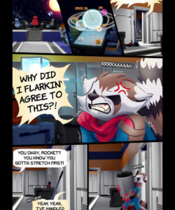 Love & Stripes 003 and Gay furries comics