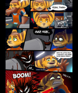 Love & Stripes 006 and Gay furries comics