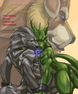 Love Thine Enemy gay furry comic