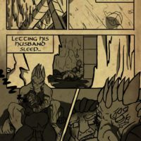 Lover's Comfort 1 gay furry comic