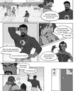Messing Up The Office 001 and Gay furries comics
