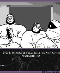 Monster Smash 1 gay furry comic