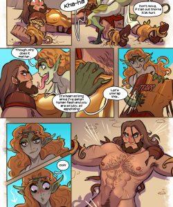 Monster gay furry comic