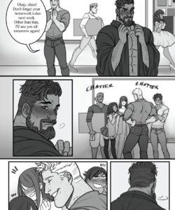 Mr Reyes gay furry comic