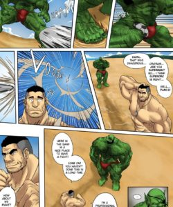 My Life With A Orc 5 – Vacation Day Part 1 gay furry comic