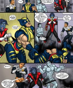Nightcrawler gay furry comic