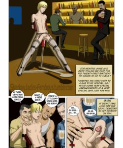 One Night In A Bar 001 and Gay furries comics