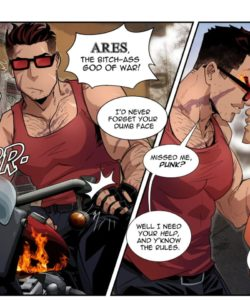 Percy And Ares 002 and Gay furries comics