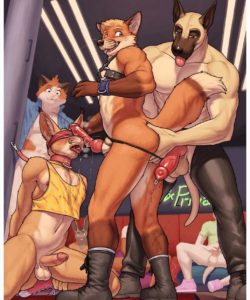 Putting On A Show gay furry comic