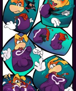Rayman And Andre - A New Vessel 001 and Gay furries comics