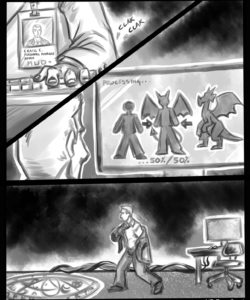 Red Dragon Transformation 001 and Gay furries comics