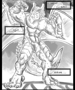 Red Dragon Transformation 004 and Gay furries comics