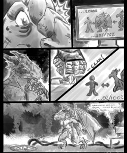 Red Dragon Transformation 005 and Gay furries comics