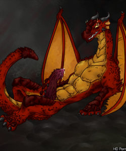 Red Dragon Transformation 008 and Gay furries comics