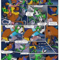 Scooby's Dreams Come True gay furry comic