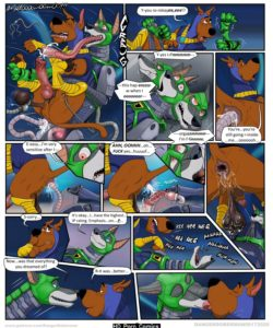 Scooby's Dreams Come True 005 and Gay furries comics