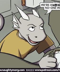 Seph & Dom - Big Distraction 034 and Gay furries comics