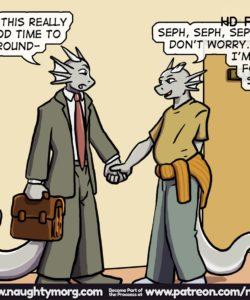 Seph & Dom - Big Distraction 079 and Gay furries comics