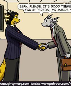 Seph & Dom - Big Distraction 089 and Gay furries comics