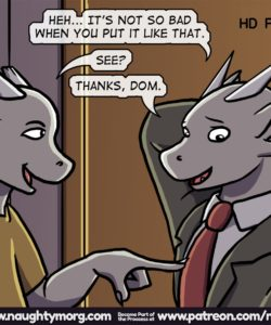 Seph & Dom - Big Distraction 108 and Gay furries comics