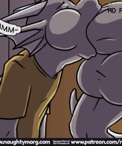 Seph & Dom - Big Distraction 128 and Gay furries comics