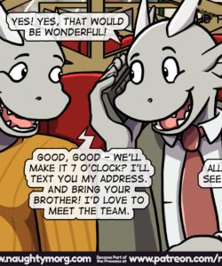 Seph & Dom - Big Distraction 176 and Gay furries comics