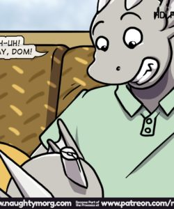 Seph & Dom - Big Distraction 284 and Gay furries comics