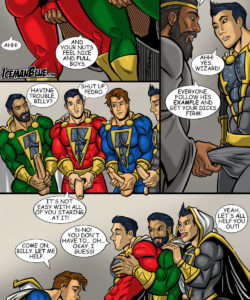 Shazam! 003 and Gay furries comics