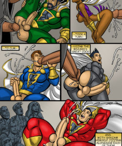 Shazam! 011 and Gay furries comics