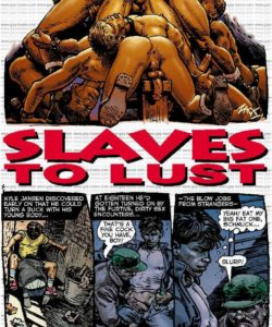 Slaves To Lust 002 and Gay furries comics