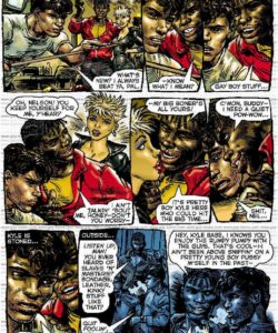 Slaves To Lust 004 and Gay furries comics