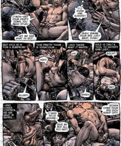 Slaves To Lust 006 and Gay furries comics