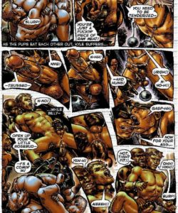 Slaves To Lust 024 and Gay furries comics