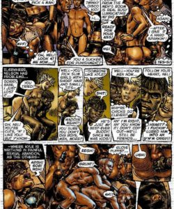 Slaves To Lust 028 and Gay furries comics