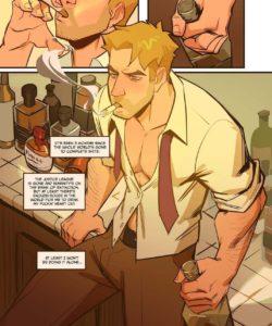 Spellbound - A John Constantine x King Shark Fan Comic 002 and Gay furries comics