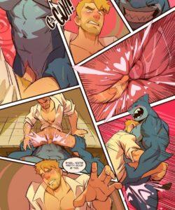 Spellbound - A John Constantine x King Shark Fan Comic 009 and Gay furries comics