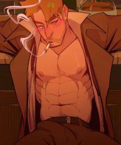 Spellbound - A John Constantine x King Shark Fan Comic 023 and Gay furries comics