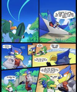 Star Riders 003 and Gay furries comics