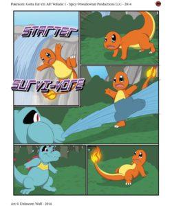 Starter Survi-Vore 001 and Gay furries comics