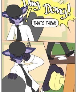 Strange Fascination gay furry comic