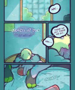 Stroke Of Luck 001 and Gay furries comics