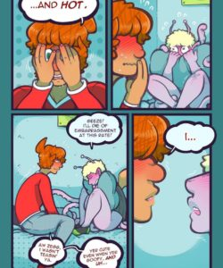 Stroke Of Luck 008 and Gay furries comics