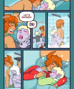 Stroke Of Luck 023 and Gay furries comics