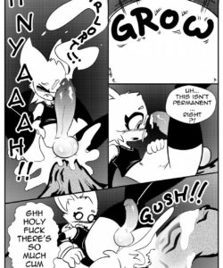 The Adventures Of Femboy Rouge 021 and Gay furries comics