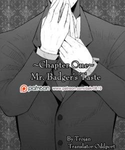 The Kingdom Of Dreams 1 - Mr Badger's Taste 002 and Gay furries comics