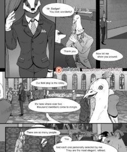 The Kingdom Of Dreams 1 - Mr Badger's Taste 004 and Gay furries comics