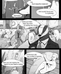 The Kingdom Of Dreams 1 - Mr Badger's Taste 009 and Gay furries comics