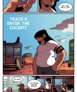 The Rock Cocks 8 - Enter The Cockpit 003 and Gay furries comics