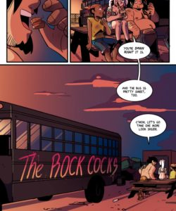 The Rock Cocks 8 - Enter The Cockpit 010 and Gay furries comics